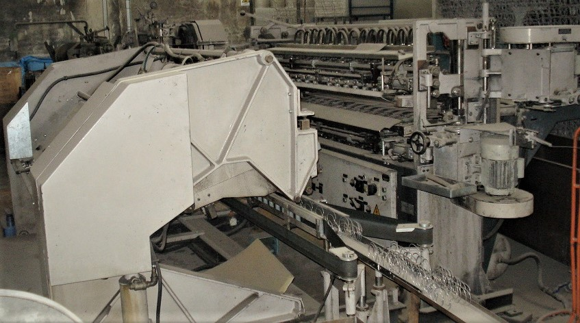 Sphul Type FTA 72 Bonnell Machine